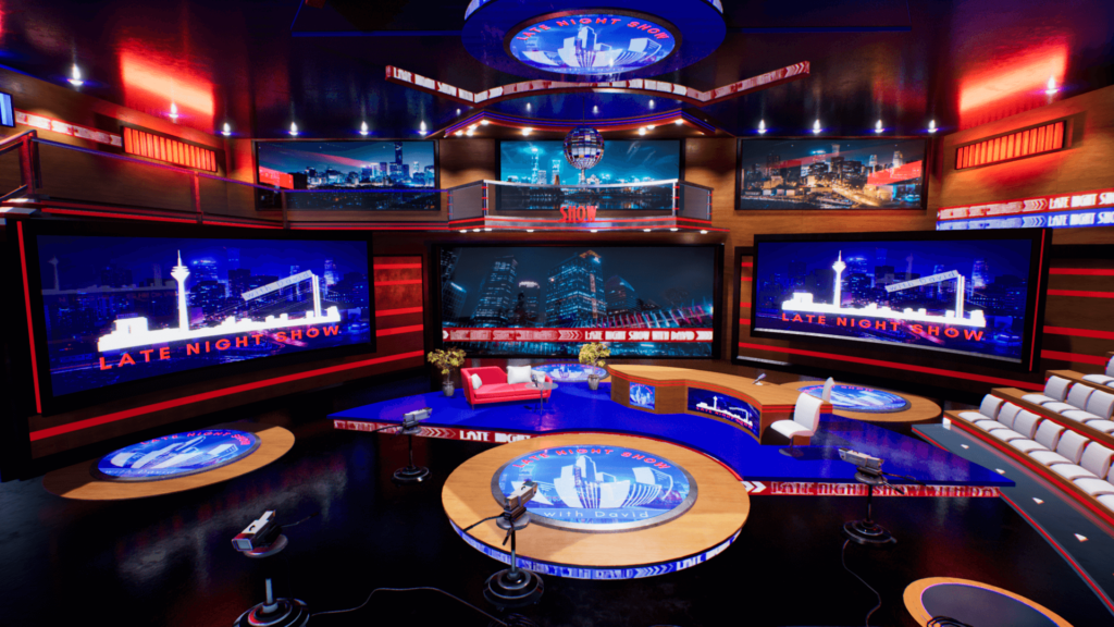 An image showing Talk Show asset pack, created with Unreal Engine 4.